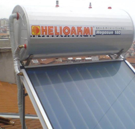 Ηλιακός Θερμοσίφωνας Helioakmi 160lt στη Βέροια