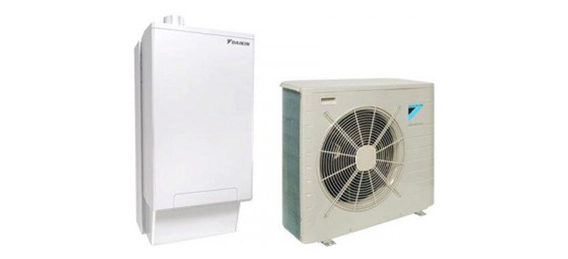 Αντλία Θερμότητας Daikin Altherma Hybrid με ενσωματωμένο λέβητα αερίου
