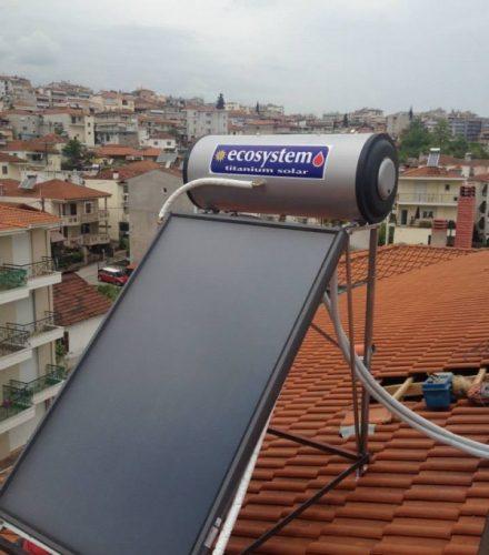 Ηλιακός Θερμοσίφωνας Ecosystem 160lt στη Βέροια