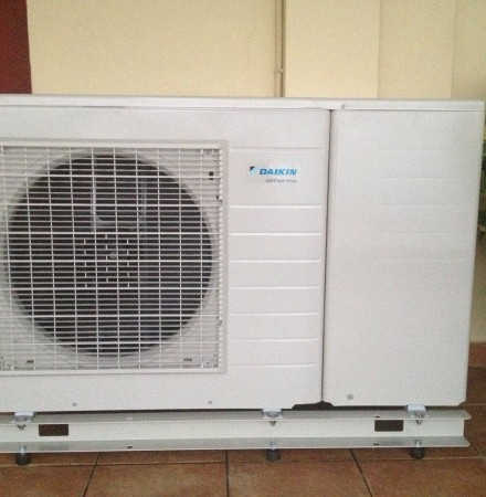 Αντλία θερμότητας Daikin Altherma 8kW Monoblock στη Βέροια