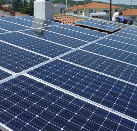Φωτοβολταϊκό Σύστημα ισχύος 7,95kW στη Βέροια