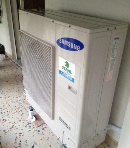 Αντλία θερμότητας SAMSUNG EHS 10KW στη Βέροια