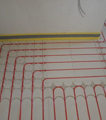 Ενδοδαπέδια Θέρμανση – Δροσιμός Interplast Knauf σε διαμέρισμα στη Βέροια