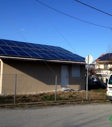 Φωτοβολταϊκό Σύστημα ισχύος 9,80kW στη Νέα Νικομήδεια Ημαθίας