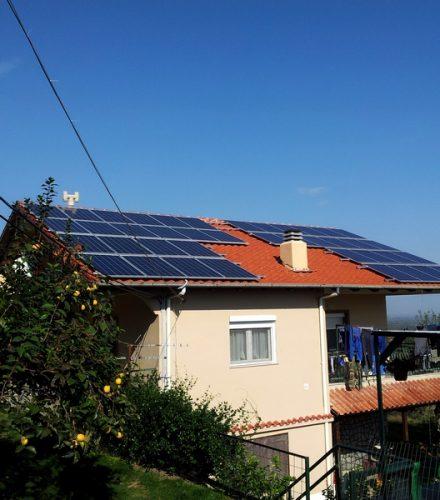 Φωτοβολταϊκό Σύστημα ισχύος 10kW στη Πατρίδα Ημαθίας