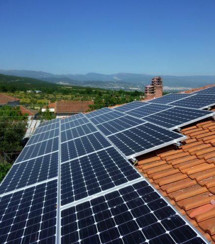 Φωτοβολταϊκό Σύστημα ισχύος 9,88kW στη Βεργίνα Βέροιας