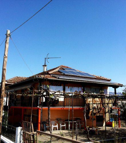 Φωτοβολταϊκό Σύστημα ισχύος 9,88kW στο Νησί Αλεξάνδρειας