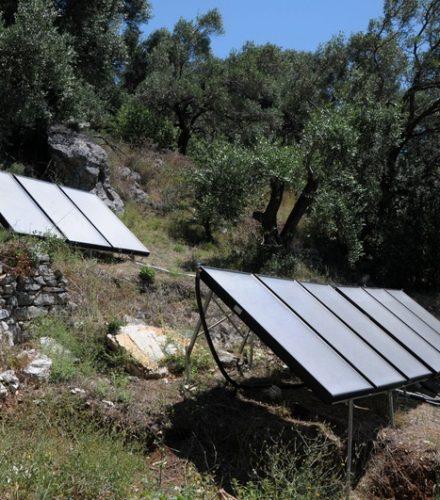 Ηλιοθερμικό Σύστημα Helional για θέρμανση πισίνας στη Κέρκυρα
