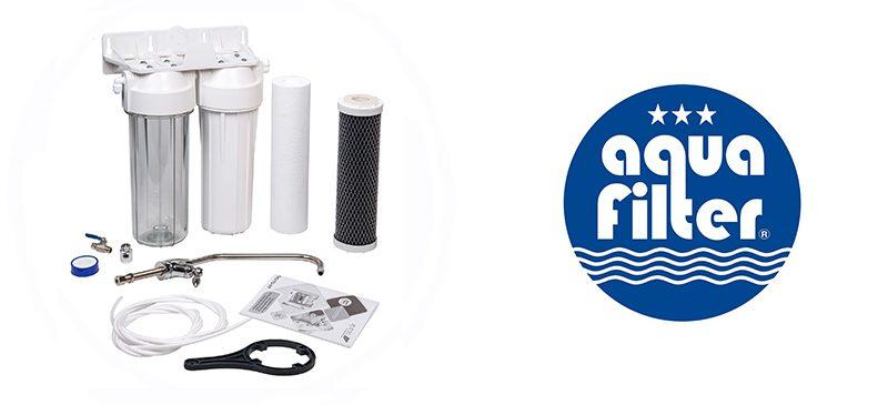 Aquafilter Διπλό Σύστημα Κάτω Πάγκου FP2-W-Κ1