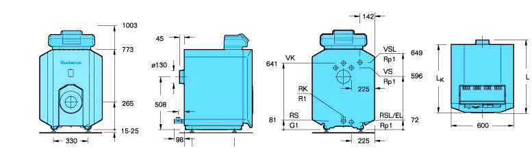 buderus logano G125 WS 3