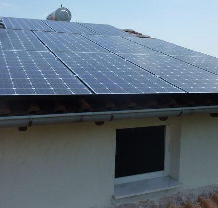 Φωτοβολταϊκό Σύστημα ισχύος 4,93kW στη Βέροια