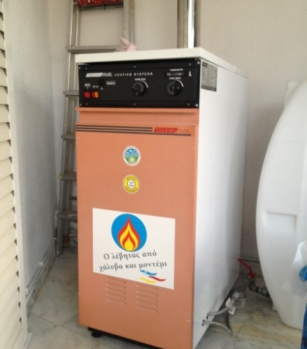 Thermostahl economic TS 20.000kcal σε οικία στη Βέροια