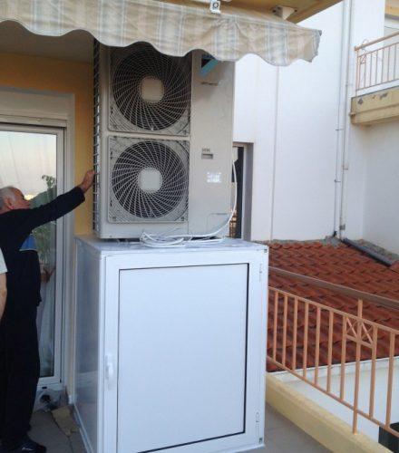 Αντλία θερμότητας Daikin Altherma 11kW Υψηλών Θερμοκρασιών στη Βέροια