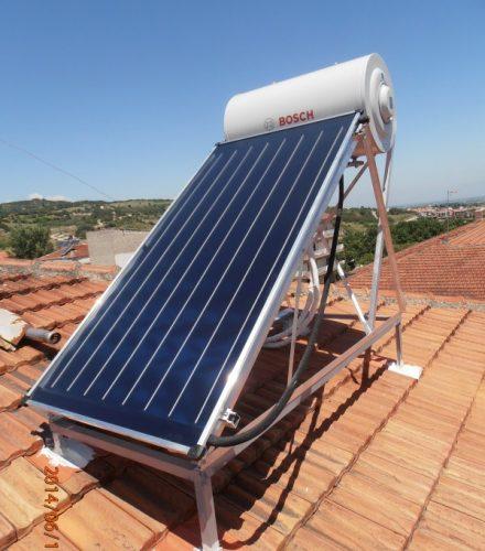 Ηλιακός Θερμοσίφωνας Bosch 150lt στη Βέροια