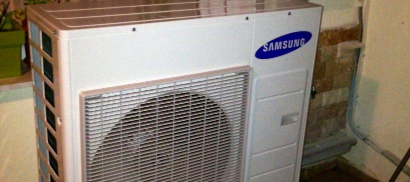 Αντλία θερμότητας SAMSUNG EHS mono 9KW στη Βέροια