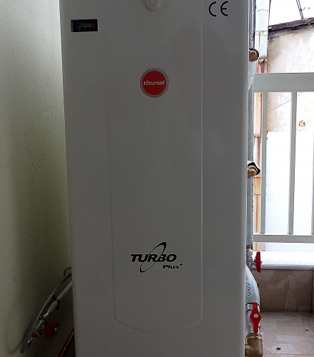 Kiturami Turbo Plus 17S ατομική μονάδα πετρελαίου σε διαμέρισμα στη Βέροια