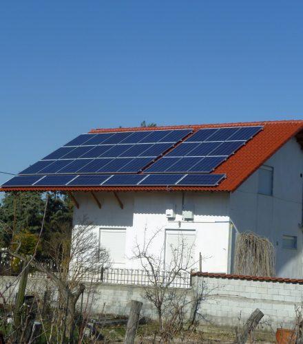Φωτοβολταϊκό Σύστημα ισχύος 9,87kW στο Καμποχώρι