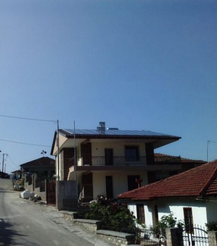 Φωτοβολταϊκό Σύστημα ισχύος 9,80kW στη Κουμαριά Ημαθίας