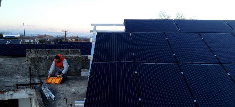 Φωτοβολταϊκό Σύστημα ισχύος 9,87kW στη Νέα Νικομήδεια Ημαθίας