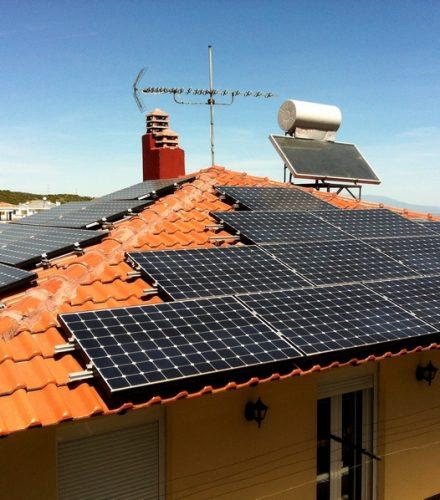 Φωτοβολταϊκό Σύστημα ισχύος 9,99kW στο Πανόραμα Βέροιας