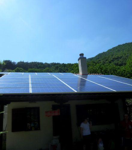 Φωτοβολταϊκό Σύστημα ισχύος 9,80kW στη Σάντα Ημαθίας