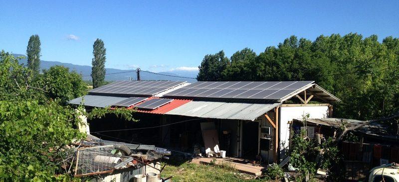 Φωτοβολταϊκό Σύστημα ισχύος 10kW στο Ταγαροχώρι Ημαθίας