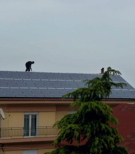 Φωτοβολταϊκό Σύστημα ισχύος 9,94kW στη Βέροια