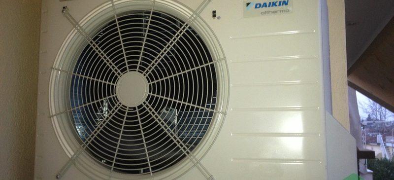 Αντλία Θερμότητας Daikin Altherma 8kW split στη Βέροια