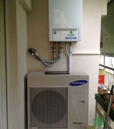 Αντλία θερμότητας SAMSUNG EHS 10KW Χαμηλών Θερμοκρασιών στη Βέροια