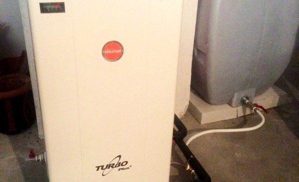 Kiturami Turbo Plus 25S ατομική μονάδα πετρελαίου σε διαμέρισμα στη Πατρίδα