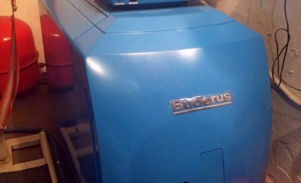 Buderus Logano B125 BE eco 34KW σε μονοκατοικία στη Βεργίνα