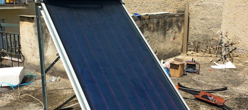 Ηλιακός θερμοσίφωνας Bartec 130lt στη Βέροια