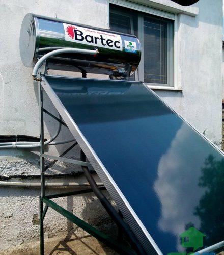 Ηλιακός θερμοσίφωνας Bartec 160lt στις Βαρβάρες