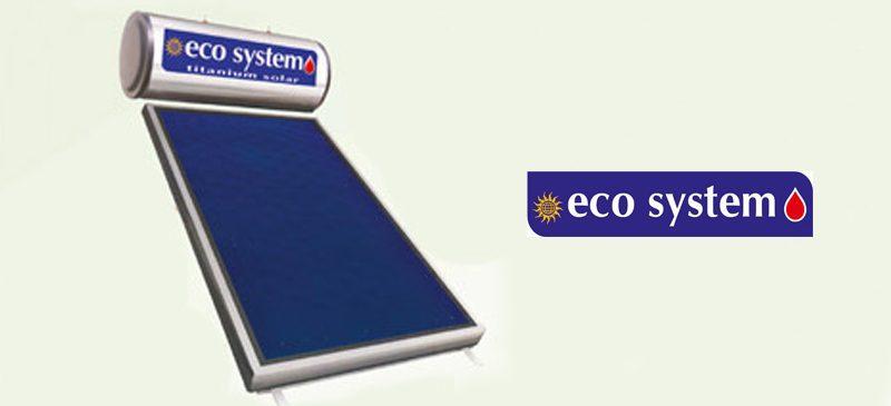 Ηλιακοί θερμοσίφωνες Ecosystem Titanium Solar