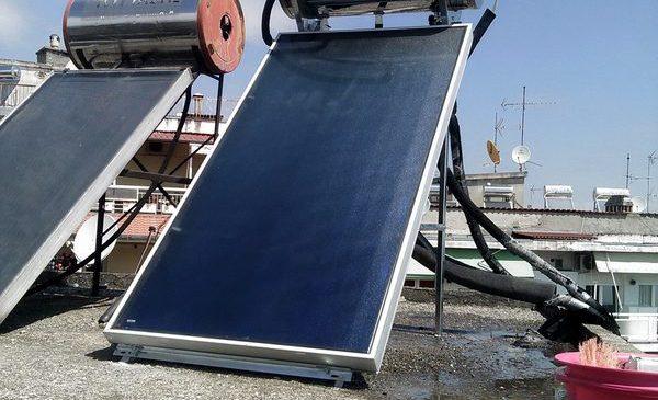 Ηλιακός Θερμοσίφωνας Lato Green 120lt στη Βέροια