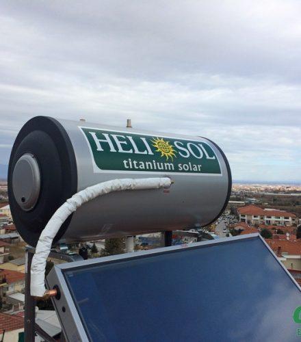 Ηλιακός Θερμοσίφωνας Heliosol 160lt στη Βέροια