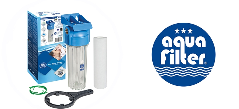 Φίλτρο Νερού Κεντρικής Παροχής 10″ Aquafilter FHPR12-HP1 – 1/2″ 10bar