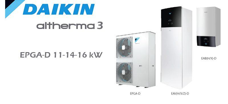 Daikin Altherma 3 EPGA-D 11-14-16 kW