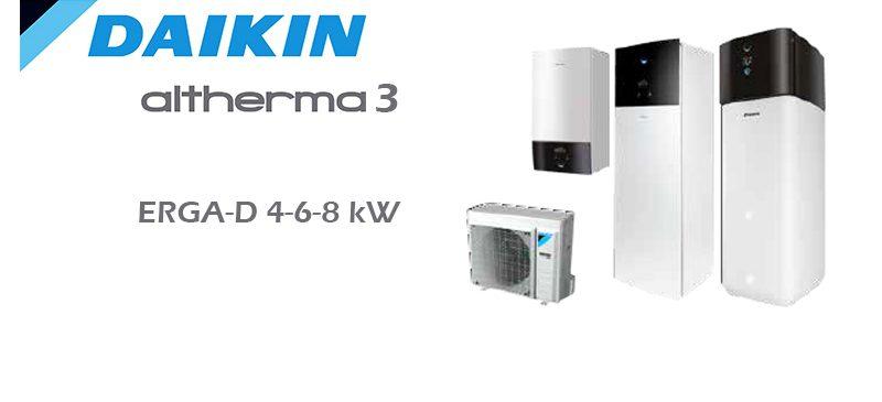 Daikin Altherma 3 ERGA-D(A) 4-6-8KW