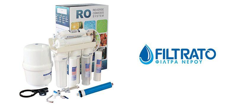 Αντίστροφη όσμωση 6 σταδίων με εμπλουτισμό της FILTRATO FILRO6